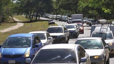 Automovilistas no pueden justificar salida de sus casas