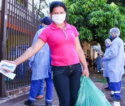 MINNA ya entregó 1000 kits de alimentos a familias del programa Abrazo