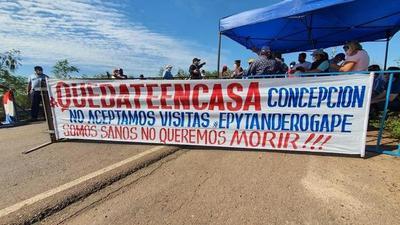 Incidentes entre pobladores y transeúntes en Concepción por cierre de puente