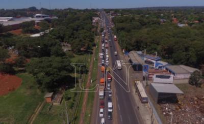 HOY / En Central se registra un mayor movimiento vehicular, según el reporte de la Patrulla Caminera