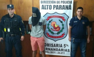 Detenido por hurtar bicicleta de un comercial en Hernandarias
