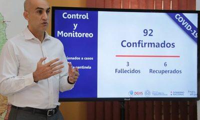 Mazzoleni insta a la ciudadanía a permanecer en sus casas y tomar conciencia sobre coronavirus