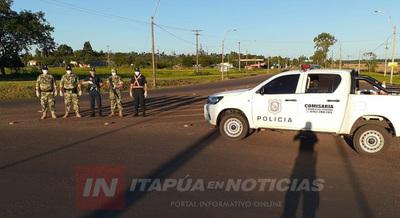 DIRECTOR POLICIAL BRINDA RESUMEN DE ACCIONES EN CONTROLES.