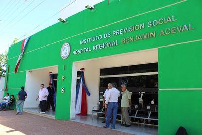 Hospital Regional IPS de Benjamín Aceval recibirá a pacientes respiratorios con Covid 19