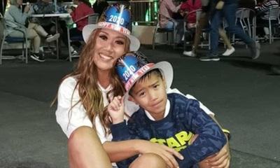 Yolanda Park emocionada por los 9 años de su hijo