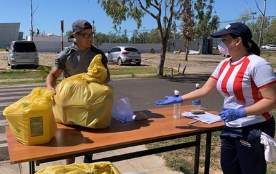 La SND entrega kits de alimentación y de limpieza