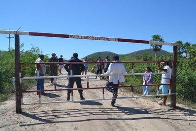 En el Chaco, pobladores se manifiestan y cierran caminos de acceso