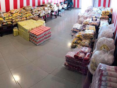 Presidente Hayes alista 150 kits de alimentos para entregar