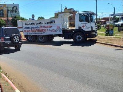 La Fiscalía levantó medida de bloqueo de ingreso y salida a Coronel Oviedo