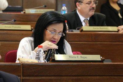 Imputan a senadora Bajac por supuesta violación de cuarentena e intento de lesión grave