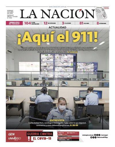 Edición impresa, 5 de abril del 2020