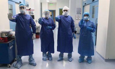 Tesãi cumple con estricto protocolo sanitario en quirófano
