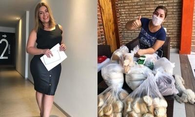 Ondina Cantero se solidariza con familias afectadas por la cuarentena