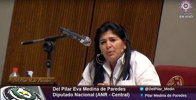 Imputan a la diputada Del Pilar Medina por presunta violación de cuarentena