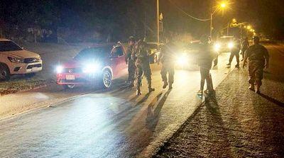 Diez personas imputadas tras controles en Salto del Guairá