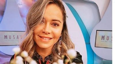 Liliana Álvarez repartió víveres en la ciudad deAtyrá