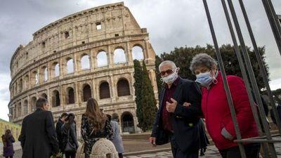 Covid-19: Italia registró un descenso en número de fallecidos por día