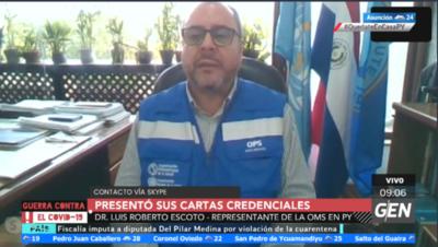 HOY / Luis Alberto Escoto, representante de la OPS y la OMS en Paraguay, sobre panorama respecto al COVID-19