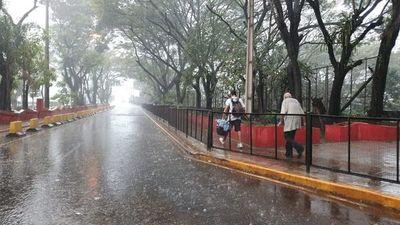 Se espera un día lluvioso y tormentas