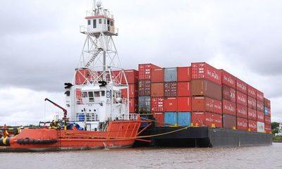 Marina Mercante garantiza flujo de comercio exterior