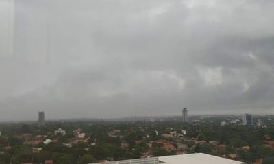 Emiten alerta por tormentas para 9 Departamentos