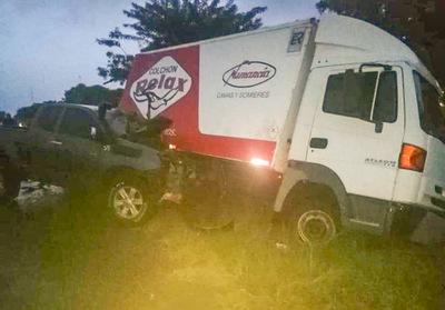 Accidente de tránsito en Paso Horqueta