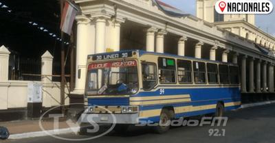 Transporte público prestará servicio en días santos con frecuencia reducida