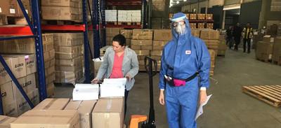 Regional Central Chaco de la ARP entregó equipos de protección para médicos y enfermeras de centros sanitarios