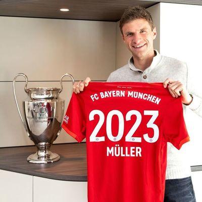Bayern Munich renovó con Thomas Müller