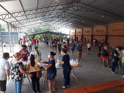 Olla popular para casi 2.000 personas en Franco