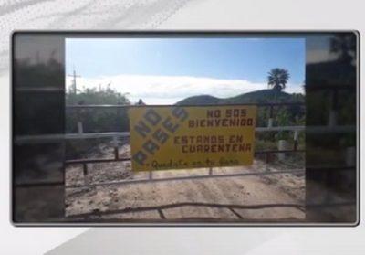Pobladores de Alto Paraguay cierran accesos para evitar ingreso del Covid-19