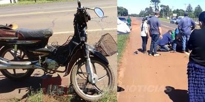 FALLECE MOTOCICLISTA TRAS ACCIDENTE SOBRE RUTA N° 6