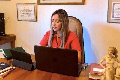 Jueza firmó fallo judicial por medio telemático