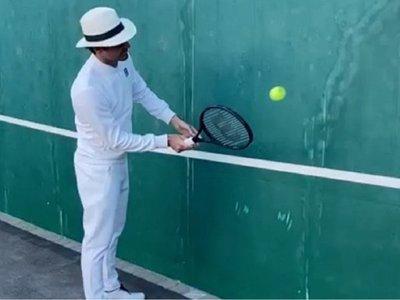 El desafío de Federer a Nadal, Djokovic y Cristiano