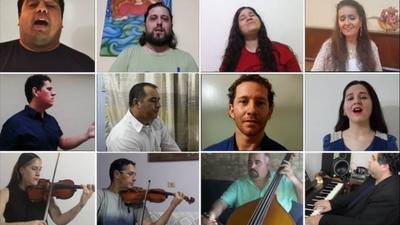 """HOY / Con """"Aleluya"""" el Instituto Municipal de Arte insta brinda un mensaje de esperanza a los paraguayos"""