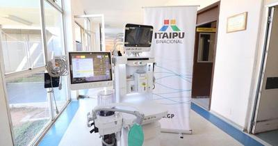 Itaipú entregó ventiladores pulmonares al Ministerio de Salud