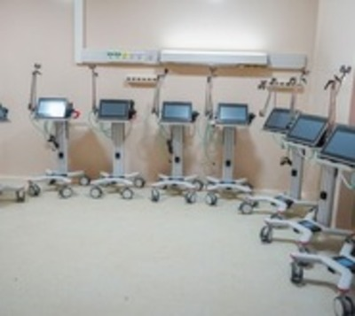 Itaipú dona 8 nuevos respiradores al Hospital Nacional de Itauguá