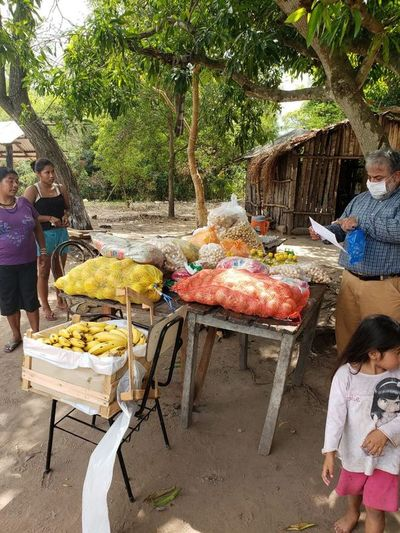 Voluntario-kuéra ombosako'i olla popular umi asentamiento ha comunidad indígena-pe