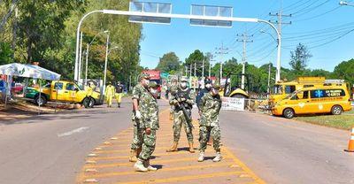 Bloquean calles mediante ordenanza en Villarrica
