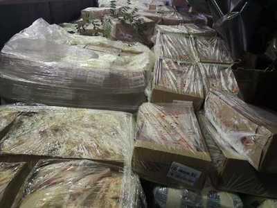 Aduanas dona tres toneladas de alimentos a la Gobernación de Alto Paraná