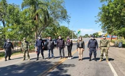 HOY / Covid-19: Barrera en Villa Florida para evitar ingreso de visitantes
