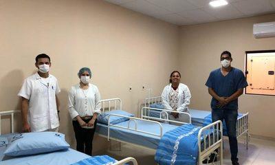 Habilitan Pabellón Materno Infantil del Hospital Distrital de Santa Rita