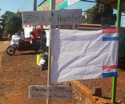 Pobladores del Km. 10 reclaman ante ausencia del Estado