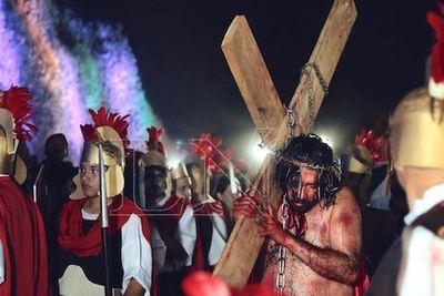 Emitirán documental de Vía Crucis en el Cerro Ñemby
