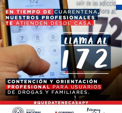 Senad pone a disposición de la ciudadanía un sistema de atención, contención y orientación vía telefónica