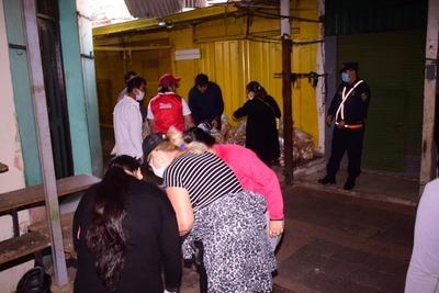 Municipalidad de San Lorenzo realizó entrega de 5 mil kilos de alimentos