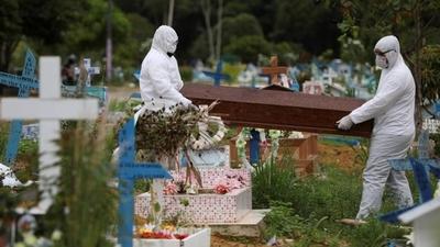 HOY / COVID-19: el virus empieza a acelerar en Brasil y cifra ya llega a 800 muertos