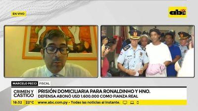 Prisión domiciliaria para Ronaldinho y su hermano