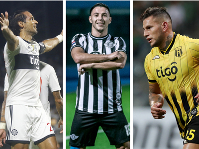 Los paraguayos con más goles en lo que va del año