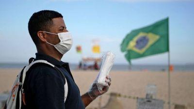 Pandemia comienza a acelerar en Brasil